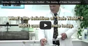 Distilled Water vs. Filtered Water vs Bottled