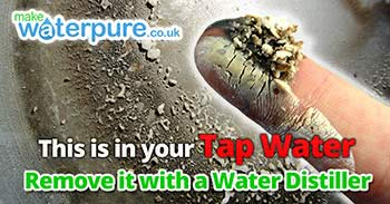 Look at what's really in your tap water with a Home Water Distiller