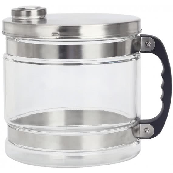 4 Litre Glass Collection Jug With Lid