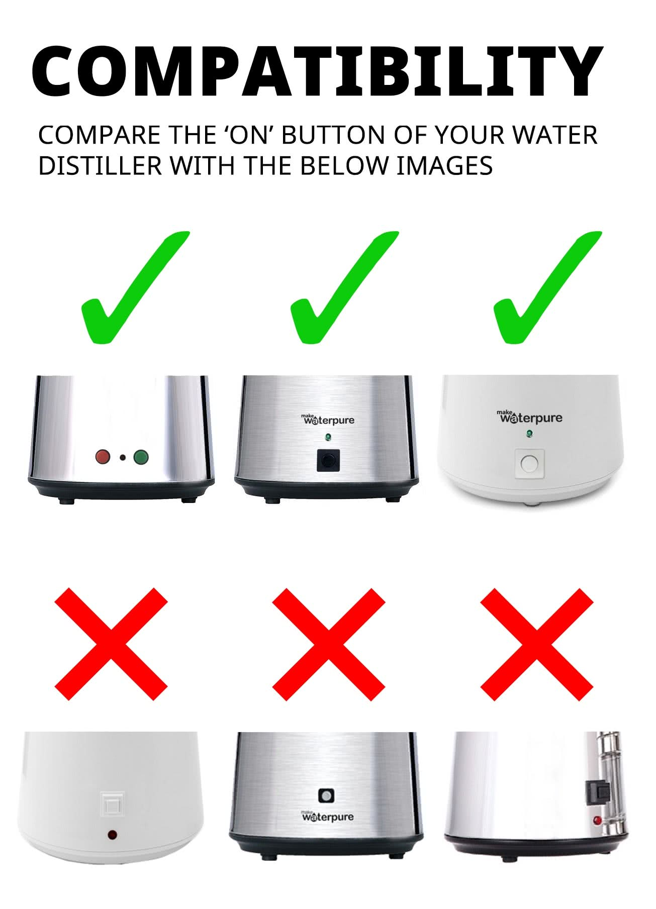 Filter Nozzle Compatibility For Water Distiller