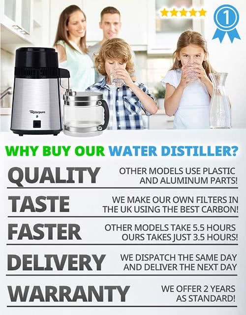 Water Distillers and Why to buy a Water Distiller