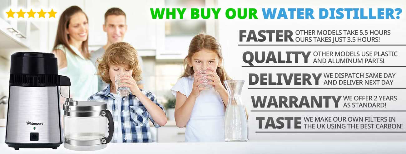 Water Distillers and Why to buy a Home Water Distiller